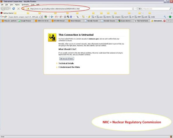 NRC_not_trusted_site