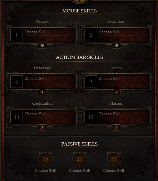 Diabl 3 Skill calculator