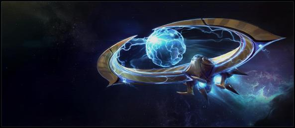 StarCraft 2 Protoss Tempest