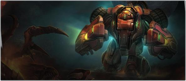 Terran Hellbat - a transformed Hellion
