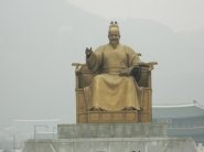 A Statue of King Sejong