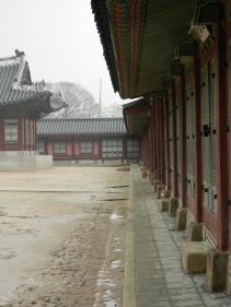 A Courtyard at Gyeongbokgung Palace