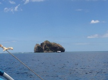 A rocky island
