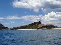 The sea and an island
